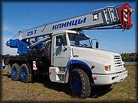 Автокран Клинцы КС55713 на базе КамАЗ-4355